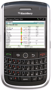 Real-Time KPIs on a BlackBerry