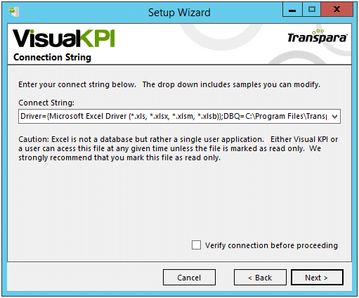 install microsoft excel interface connection