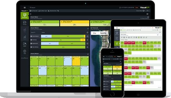 Smart Meter Dashboard in Visual KPI
