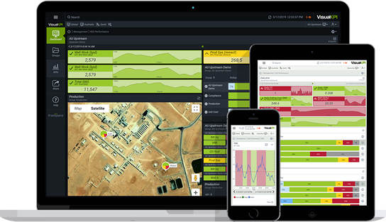Aspentech IP.21 Dashboard and KPIs on Mobile Devices