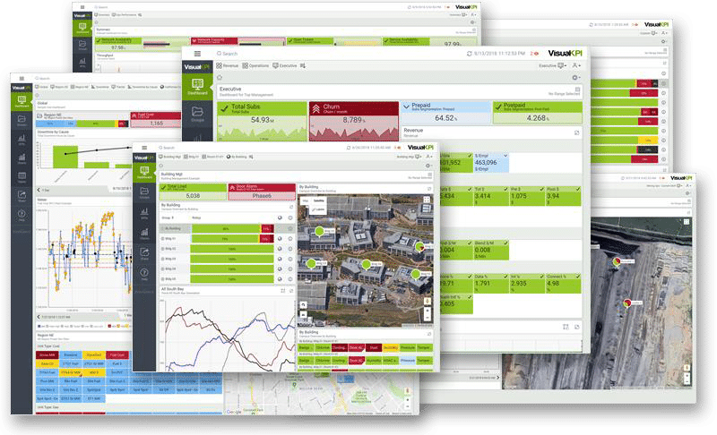 Visual KPI Dashboard view