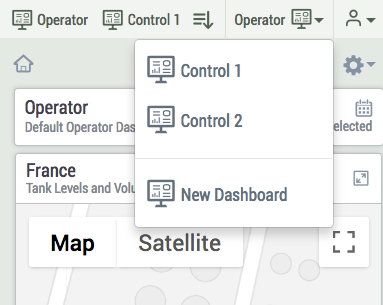 configure dashboards