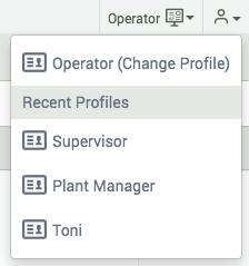 change profile