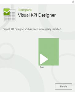install Visual KPI Designer